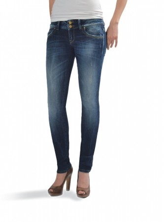 LTB Damen Jeans Molly - Super Slim - Oxford Wash