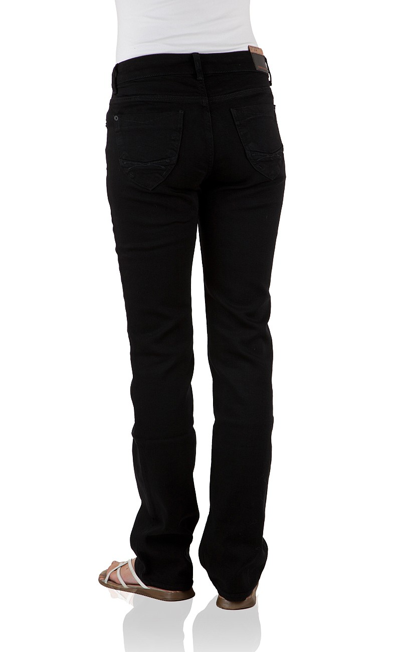 Cross Damen Jeans Rose - Regular Fit - Black