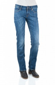 Mustang Damen Jeans Oregon - Straight Fit - Strong Bleach
