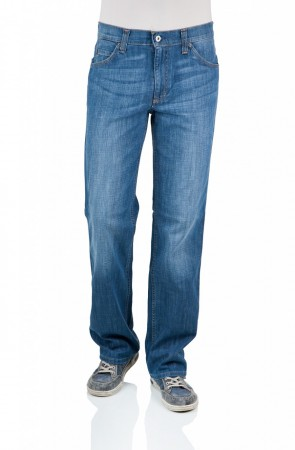 Mustang Herren Jeans Tramper Stretch - Slim Fit - Strong Bleach