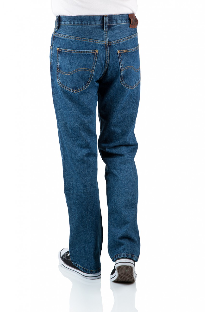 Lee Herren Jeans Brooklyn - Regular Fit - Stonewash