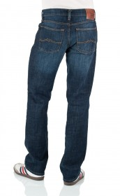 Mustang Herren Jeans Big Sur Stretch - Regular Fit - Old Brushed