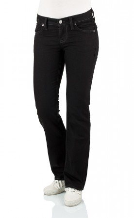 Mustang Damen Jeans Oregon - Straight Fit - Midnight Black