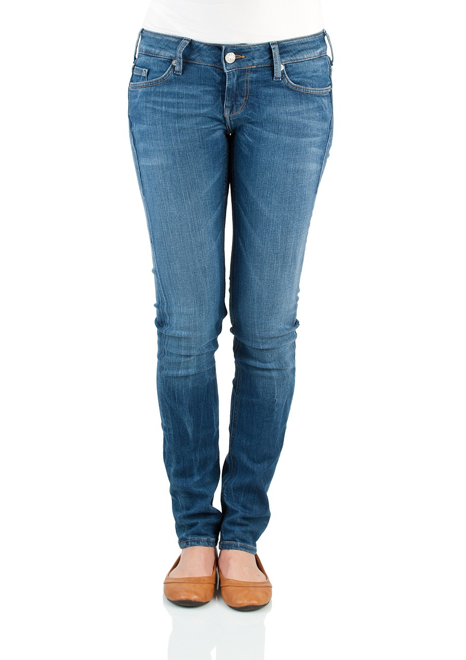 Mustang Damen Jeans Gina - Slim Fit - Authentic Used