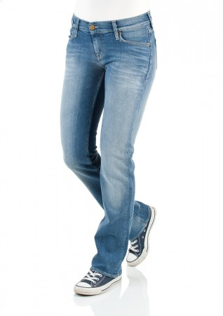 Mustang Jeans Oregon - Straight Fit - Brushed Bleached