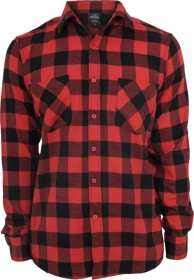 Urban Classics Checked Flanell T-Shirt - Regular Fit