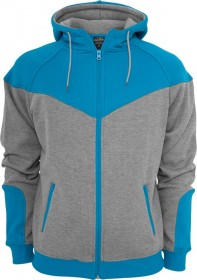 Urban Classics Herren Arrow Sweat Zip Kapuzenpullover - Regular Fit