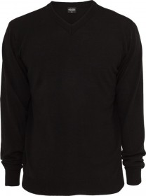 Urban Classics Herren Sweatshirt Knitted V-Neck - Regular Fit