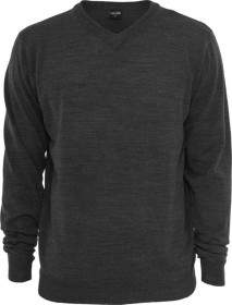Bild 2 - Urban Classics Herren Sweatshirt Knitted V-Neck - Regular Fit