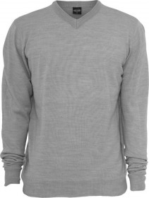 Bild 3 - Urban Classics Herren Sweatshirt Knitted V-Neck - Regular Fit