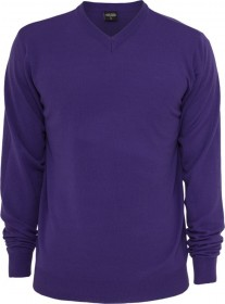 Bild 4 - Urban Classics Herren Sweatshirt Knitted V-Neck - Regular Fit