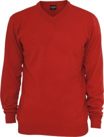 Bild 6 - Urban Classics Herren Sweatshirt Knitted V-Neck - Regular Fit