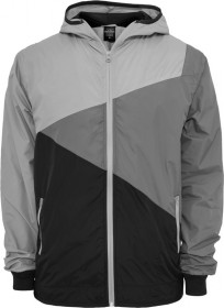 Urban Classics Herren Zig Zag Windrunner - Regular Fit