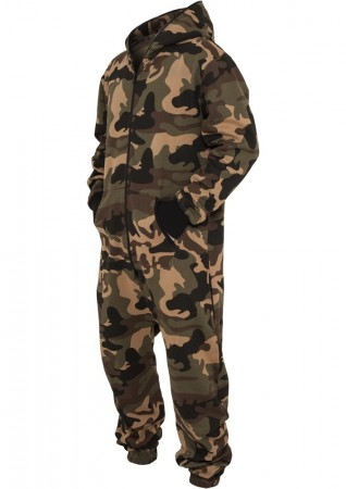 Urban Classics Herren Camo Jumpsuit - Regular Fit