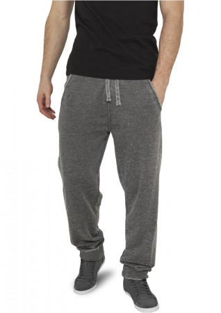 Urban Classics Herren Jogginghose Burnout Sweatpants - Regular Fit