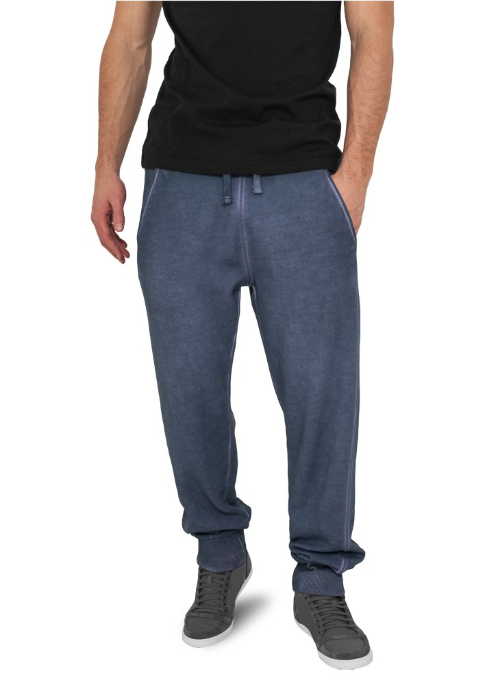 Urban Classics Herren Jogginghose Spray Dye Sweatpants - Regular Fit
