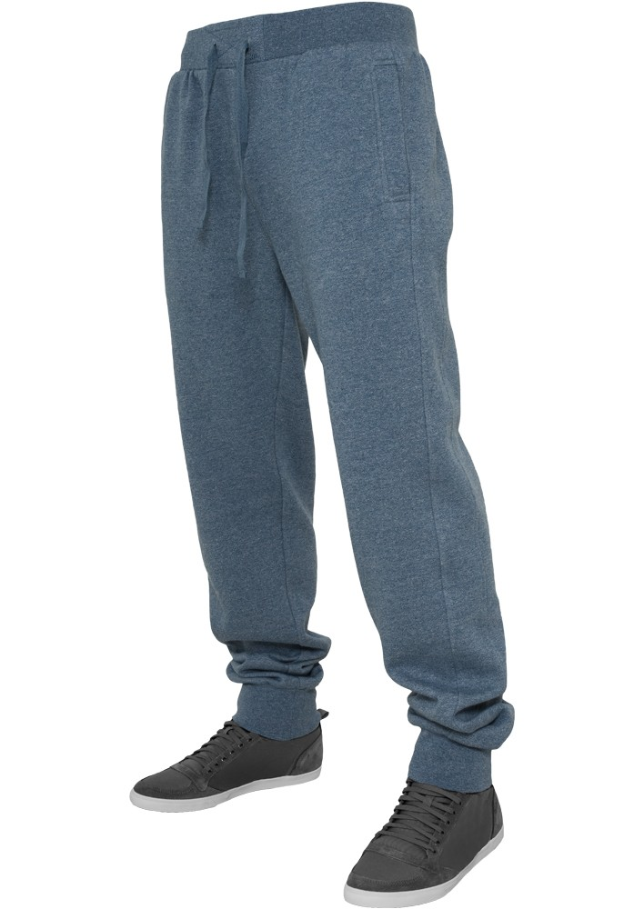 Urban Classics Herren Jogginghose Melange Sweatpants - Regular Fit
