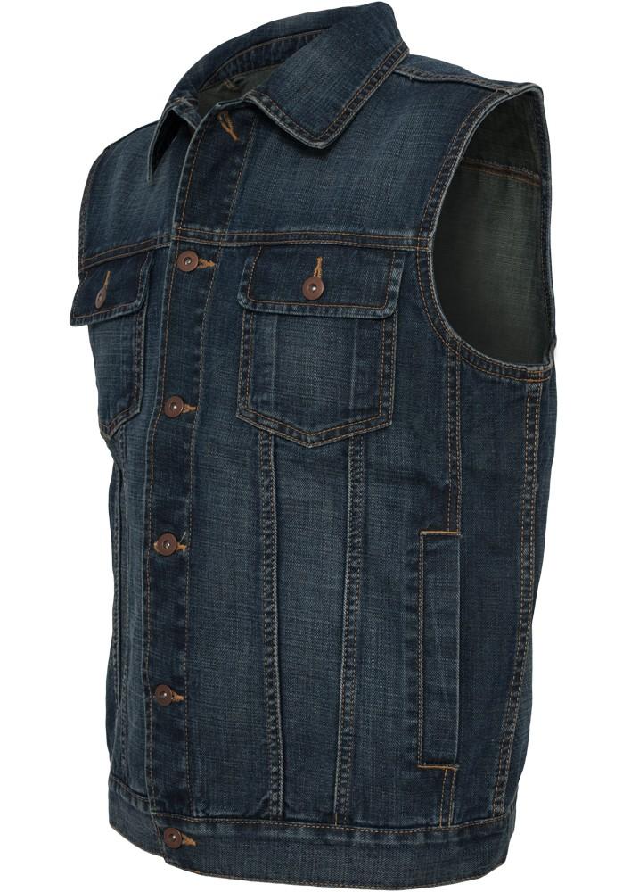 urban classics herren denim weste regular fit kaufen jeans direct de. Black Bedroom Furniture Sets. Home Design Ideas