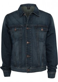 Urban Classics Herren Denim Jacke - Regular Fit