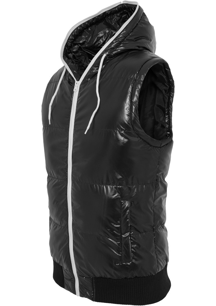 Urban Classics Herren Hooded Bubble Weste