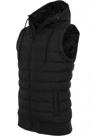 Urban Classics Herren Small Bubble Hooded Weste