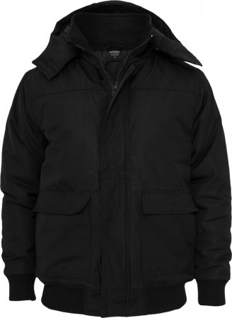 Urban Classics Herren Heavy Hooded Winter Jacke