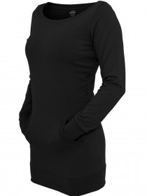 Bild 1 - Urban Classics Damen Long Crewneck