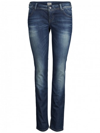Only Damen Jeans Aisha - Low Slim - Medium Blue