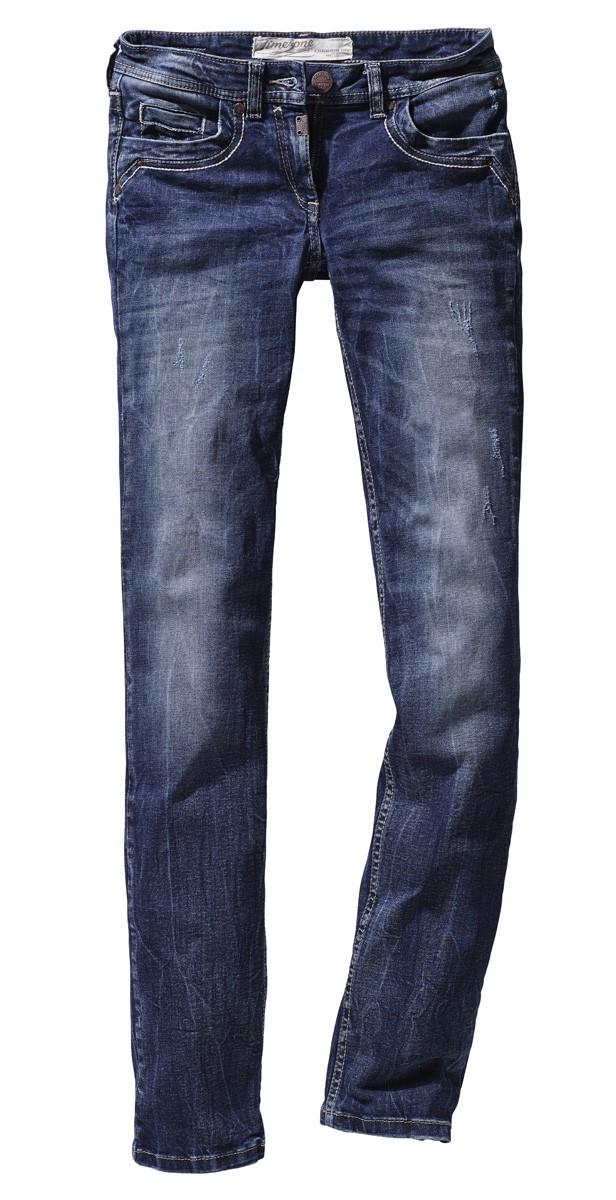 timezone damen jeans tahila 16 5398 3218 3624 slim fit blue patriot neu ebay. Black Bedroom Furniture Sets. Home Design Ideas