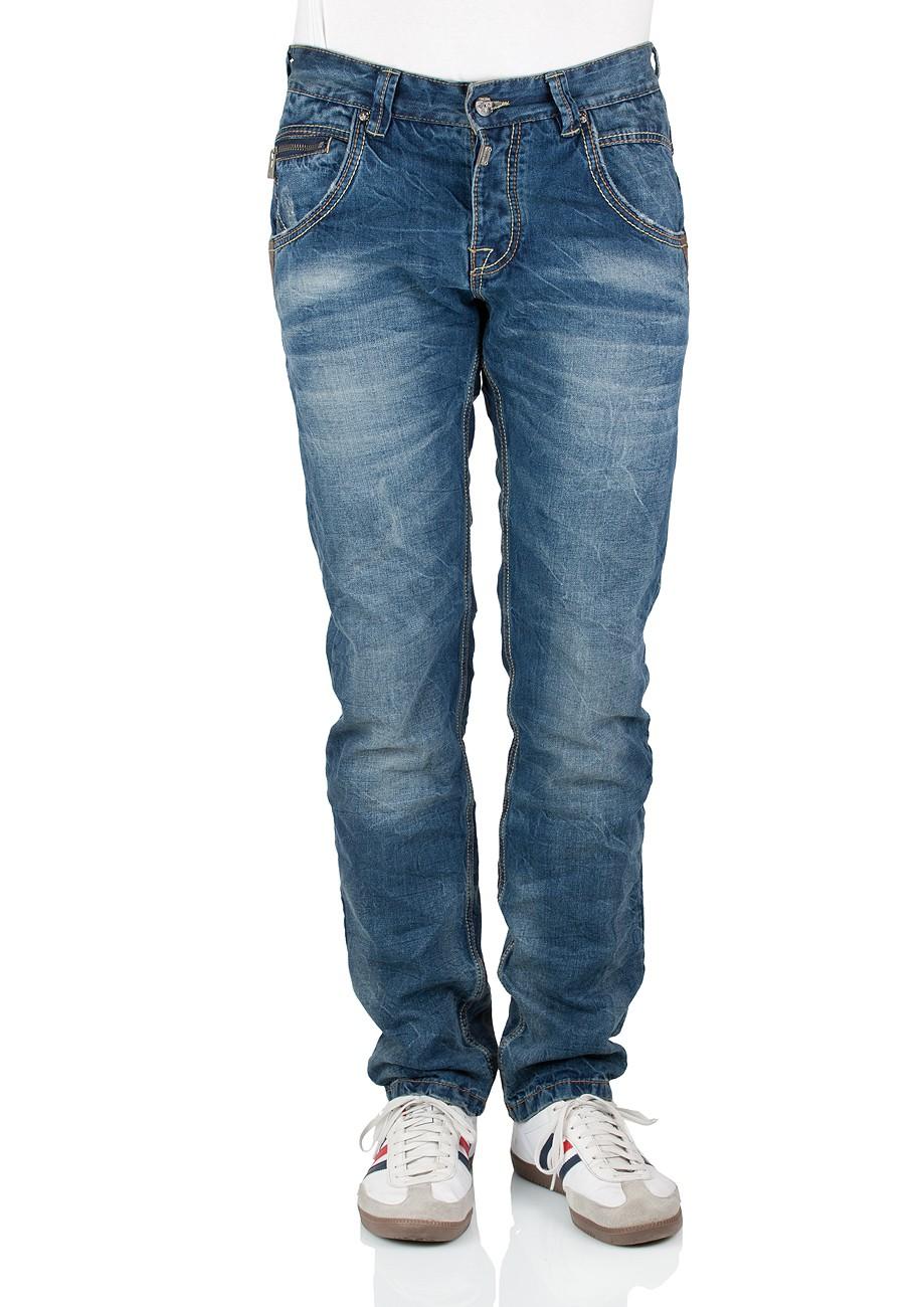timezone herren jeans haroldtz regular fit midwest. Black Bedroom Furniture Sets. Home Design Ideas