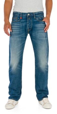 Replay Herren Jeans Billstrong M955-606-308 Straight Fit blue W 32 L 36, blue (308)