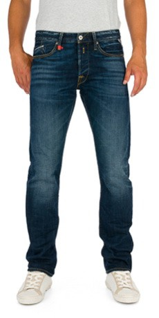 d6ade4c4684d3 Replay Herren Jeans Waitom M983-606-300 Straight Fit light blue neu ...