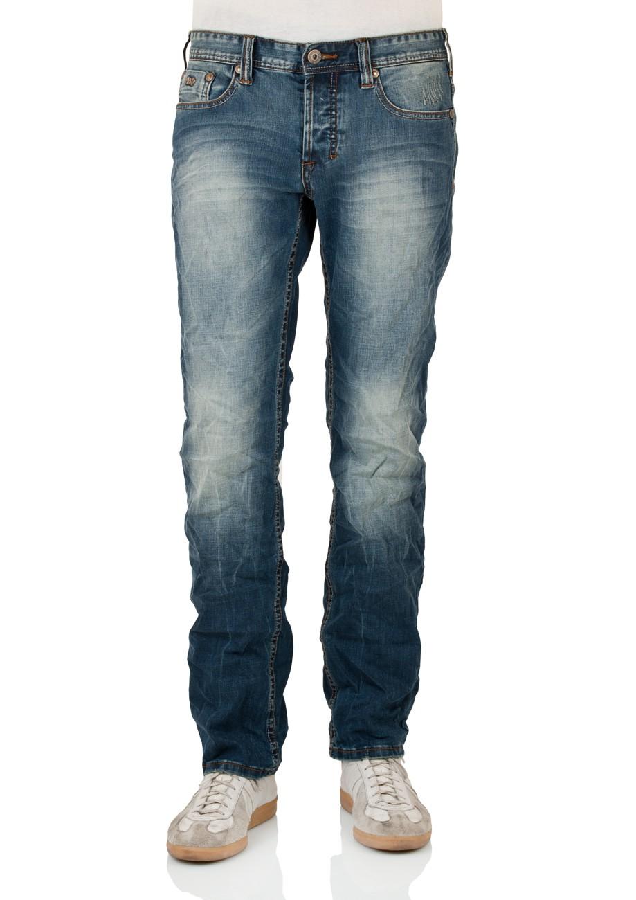 M.O.D. Herren Jeans Thomas W113-1014 Comfort Fit auburn blue W 29 L 32, auburn blue