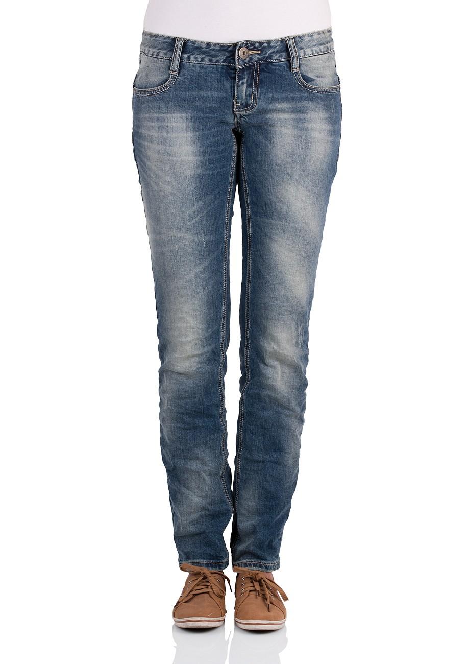 MOD Damen Jeans Alice Star W113-2005 Regular Fit bonita blau