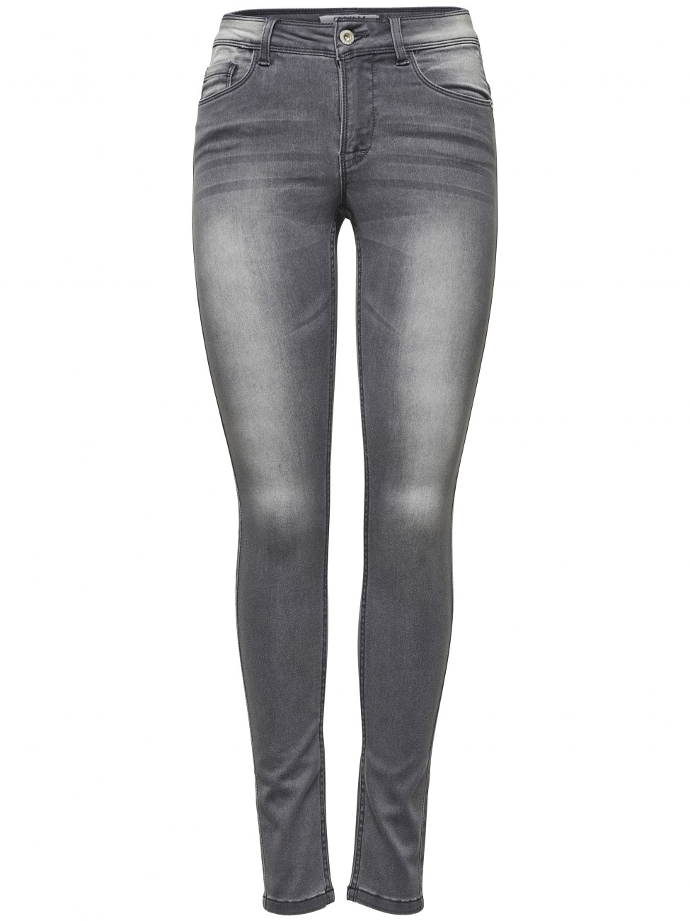 Only Damen Jeans Ultimate - Grey