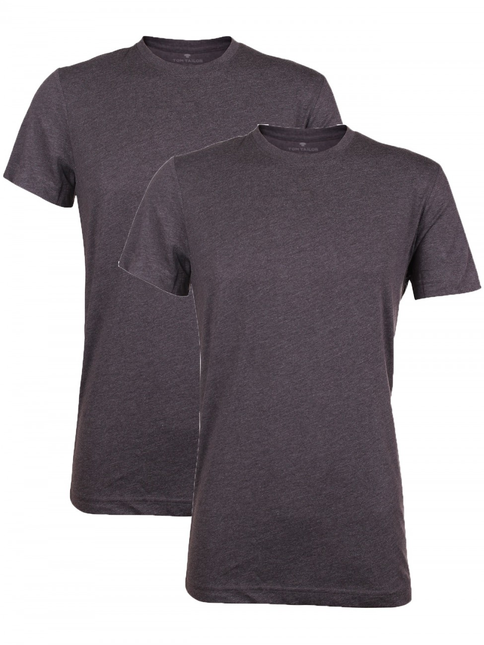 Tom Tailor Herren Crew- Neck T-Shirt - 2er Pack