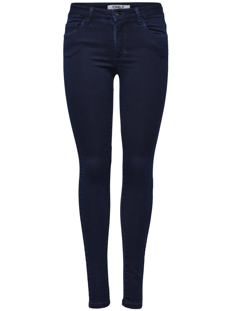 Blaue skinny jeans damen