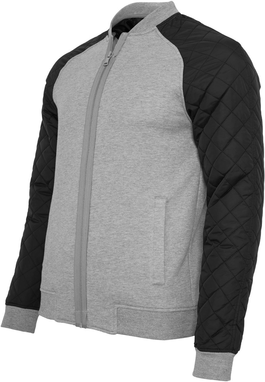 Urban Classics Herren Sweatjacke Diamond Nylon Sweatjacke