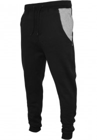 Bild 1 - Urban Classics Herren Side Zip Contrast Pocket Sweatpant