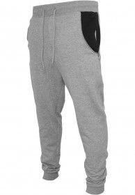 Bild 2 - Urban Classics Herren Side Zip Contrast Pocket Sweatpant