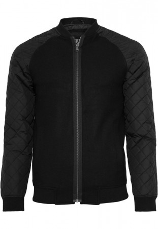 Urban Classics Herren Jacke -  Diamond - Nylon Wool