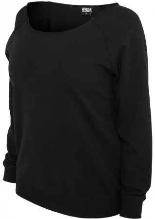 Urban Classics Sweatshirt Damen Open Edge Crewneck