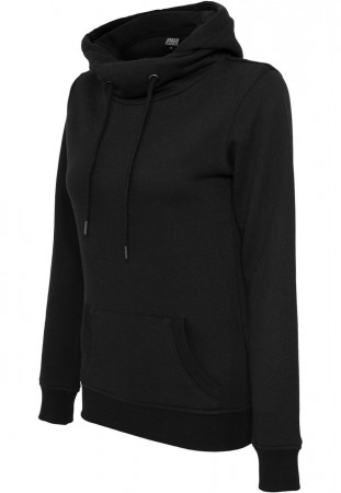 Urban Classics Damen High Neck Kapuzenpullover