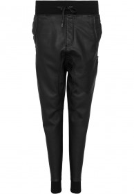 Urban Classics Damen Deep Crotch Kunstleder Pants