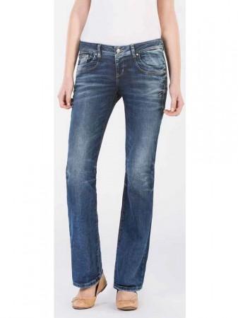 ltb damen jeans valerie bootcut blue lapis wash ebay. Black Bedroom Furniture Sets. Home Design Ideas