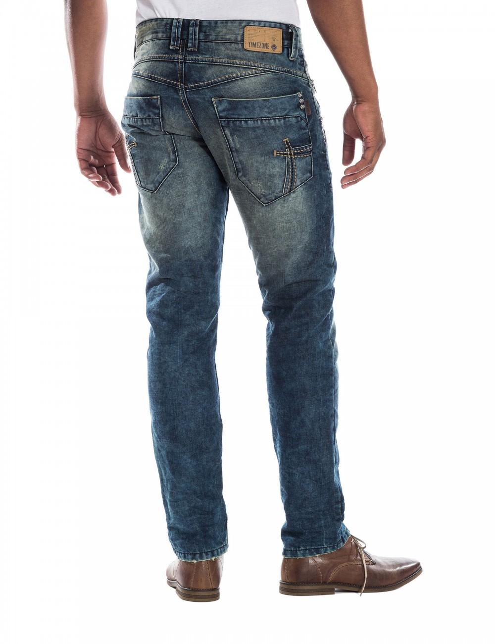 timezone herren jeans haroldtz regular fit dirty. Black Bedroom Furniture Sets. Home Design Ideas