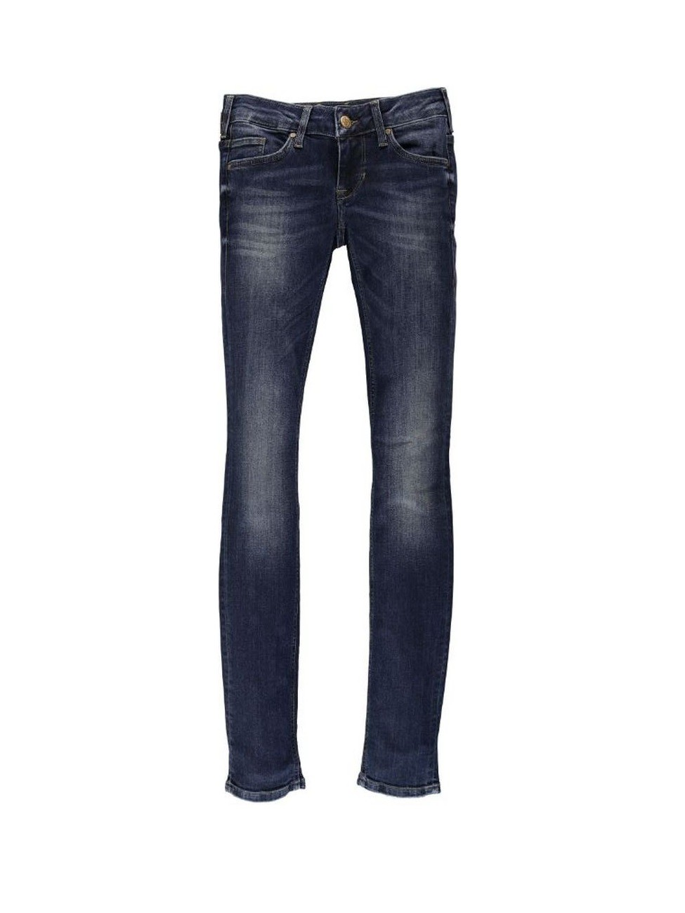 Mustang Damen Jeans Gina Skinny - Slim Fit - Dark Scratched Used W 31 L 32, dark scratched used