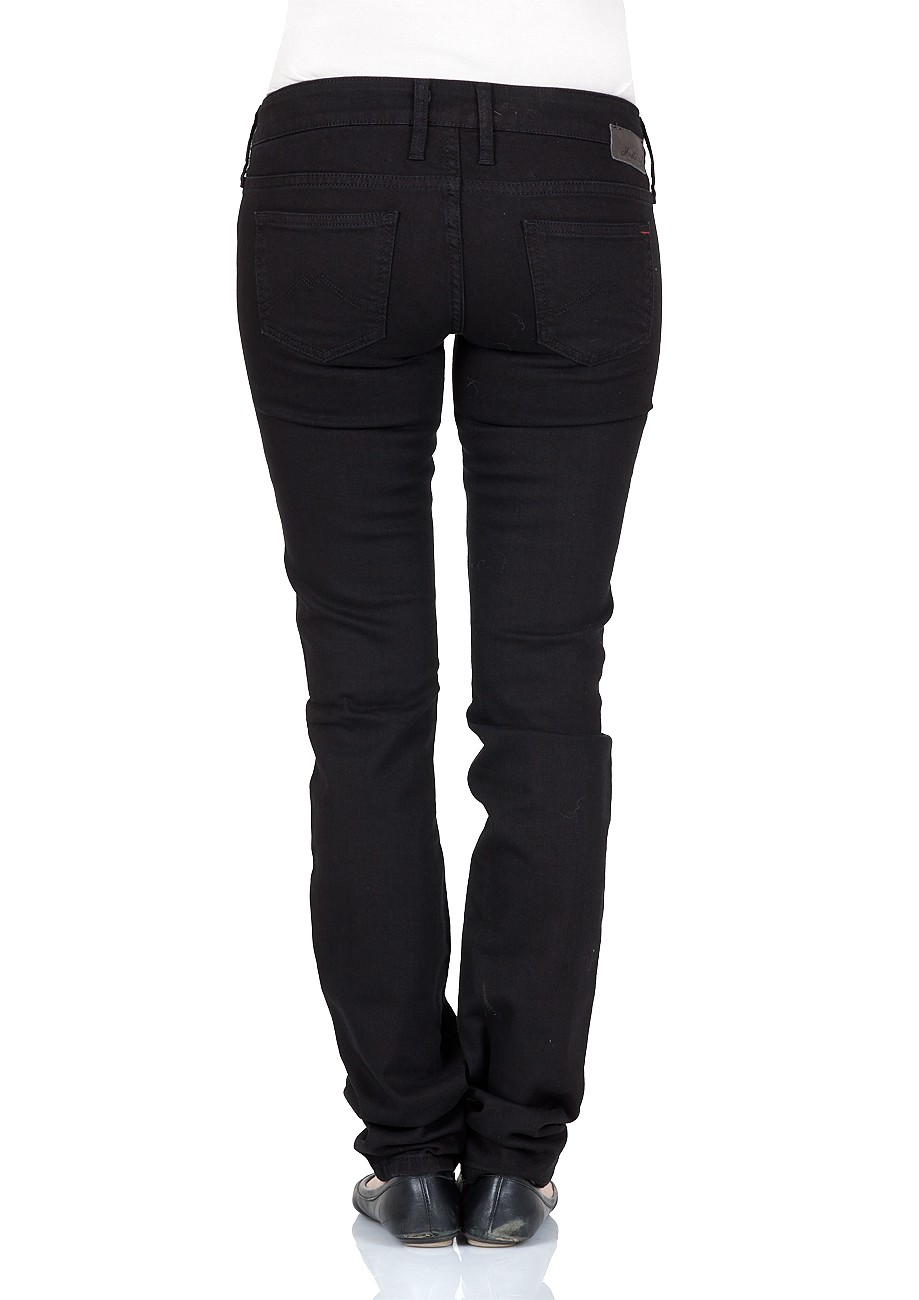 Mustang Damen Jeans Gina Skinny - Slim Fit - Dark Rinse Used