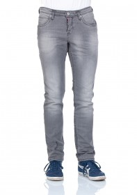 Tom Tailor Denim Herren Jeans Aedan - Slim Fit - Grey Denim
