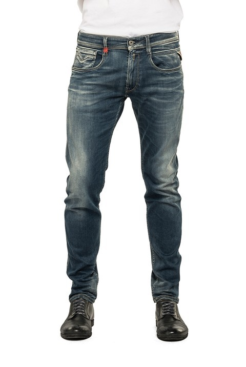 replay hyperflex herren jeans anbass m914 661 523 slim fit. Black Bedroom Furniture Sets. Home Design Ideas